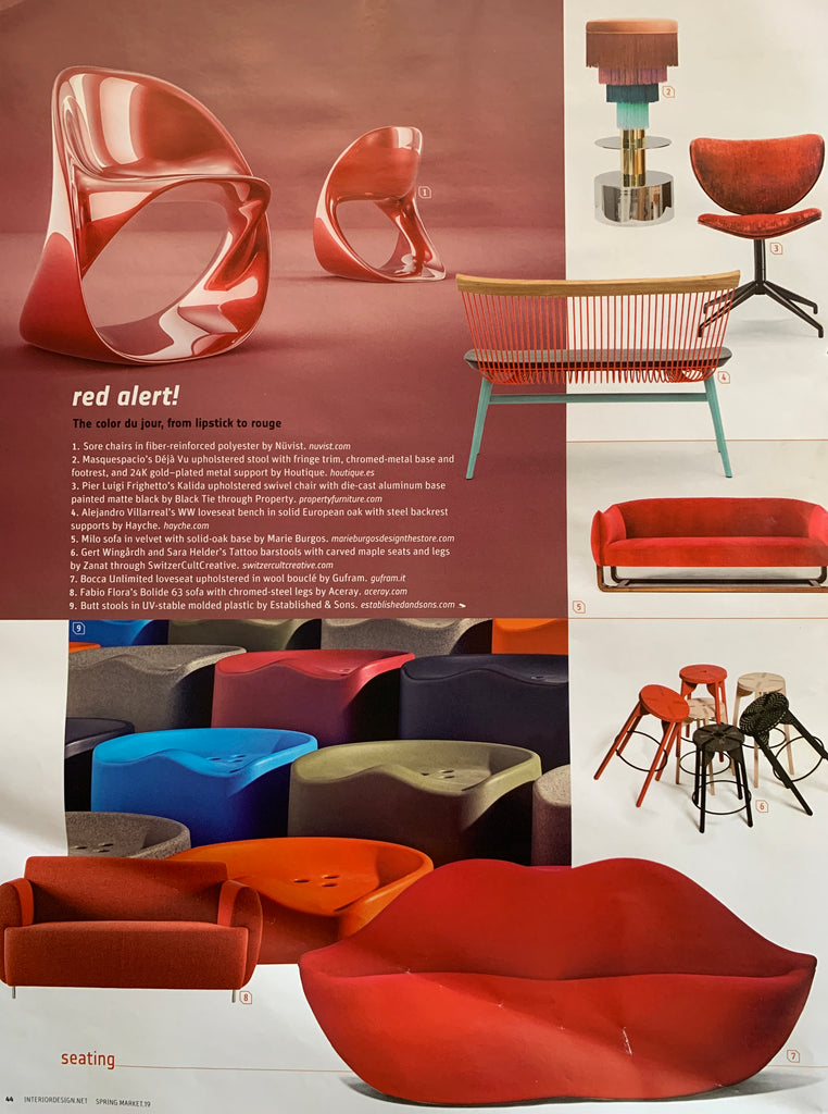Interior Design Magazine - WW Loveseat