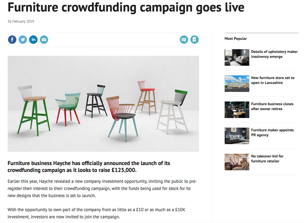 Cabinet Maker - Crowdfunding News