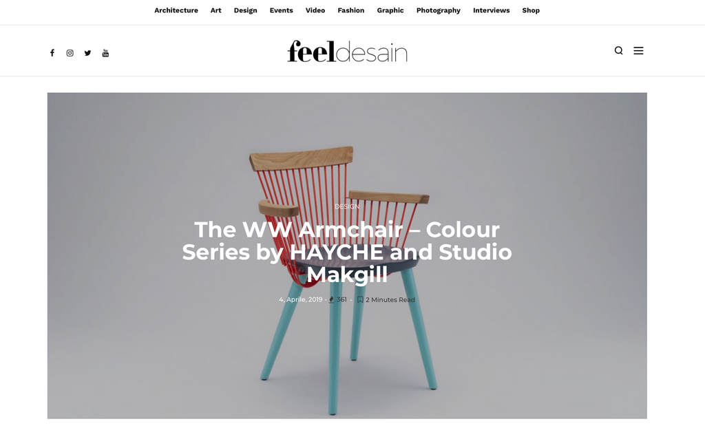 Feel Design Blog WW Armchair CS3