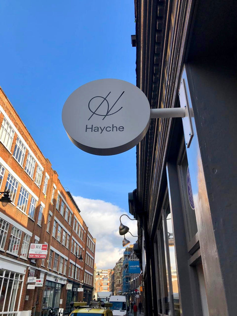 hayche showroom london
