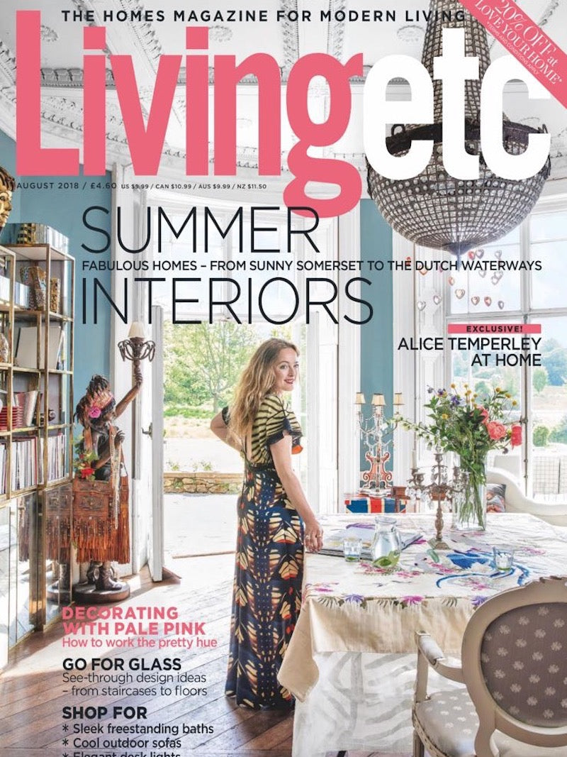 Living Etc July 2018 - Hayche Bar Stool