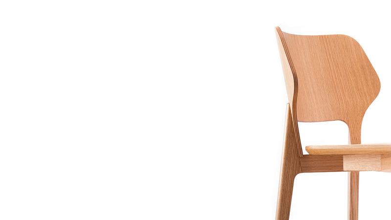 Backer Oak Dining Chair - Daniel Schofield - Hayche Furniture