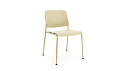 Beattie - Stackable Green Plastic Chair - Contract Furniture - Hayche London