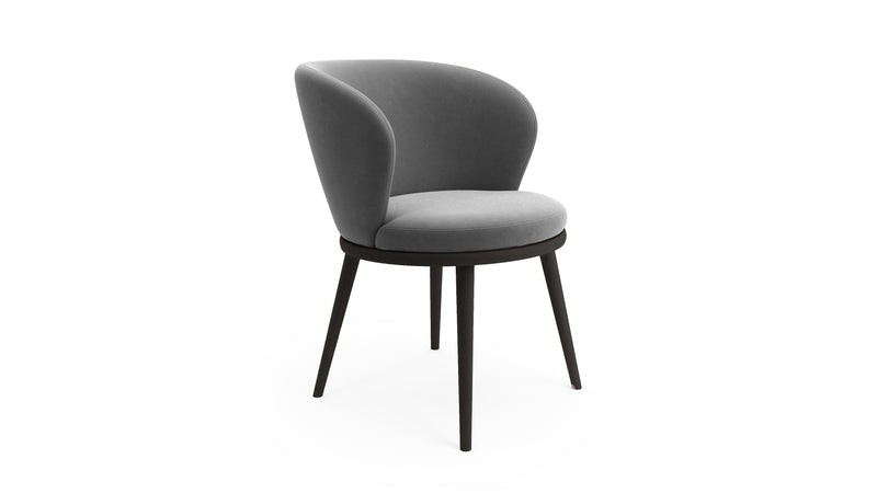 Gabi Hayche Grey upholstered armchair London