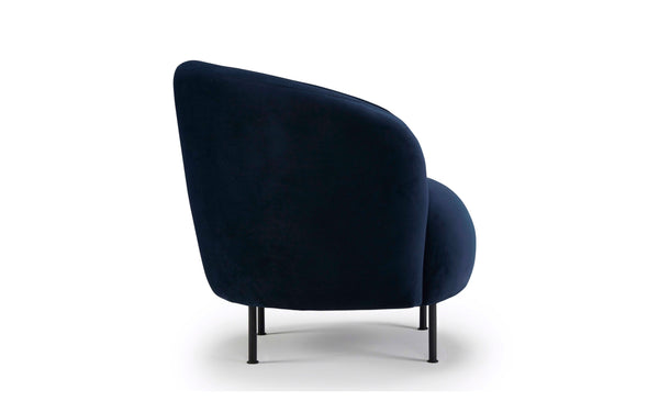 Glover Armchair - Metal Legs