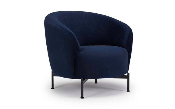 Glover Armchair - Metal XBase