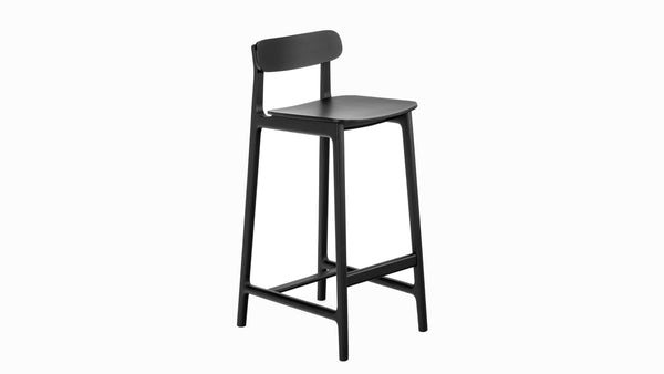 Kensington Bar Stool - Black - 75cm, Bar Stool, Buy from Hayche.com - Faudet Harrison