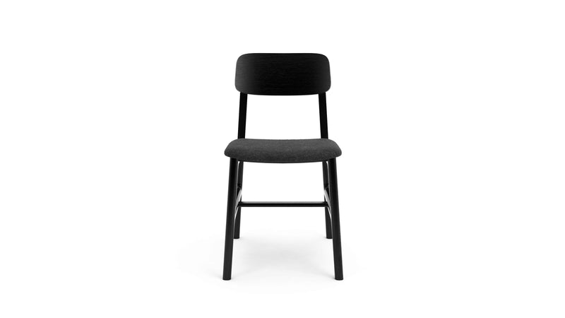 Kensington Chair - Black Oak & Felt
