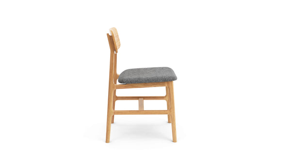 Kensington Chair - Oak & Felt
