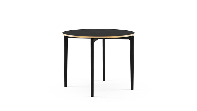 Black Round Dining Table - Kensington - Hayche Furniture - Clerkenwell London
