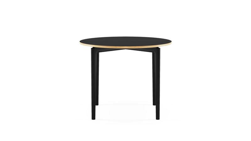 Kensington Circular Table - All Black