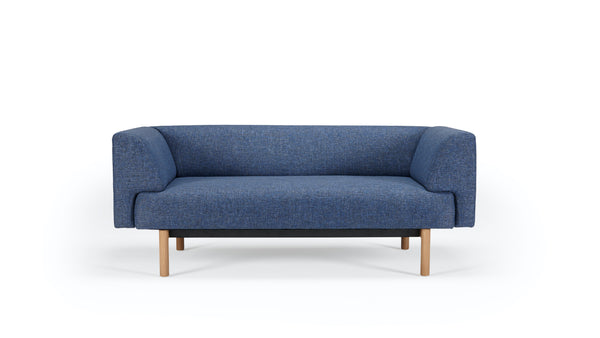 Mayall Sofa - Blue & Oak - 2 seat