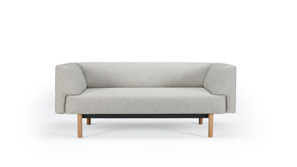 Mayall Sofa - Grey & Oak - 2 seat