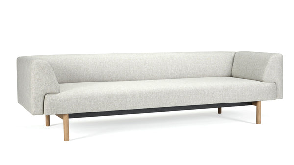 Mayall Sofa - Grey & Oak - 3 seat