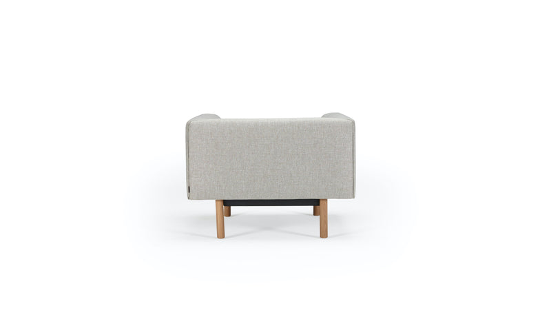 Mayall Sofa - Grey & Oak - Armchair