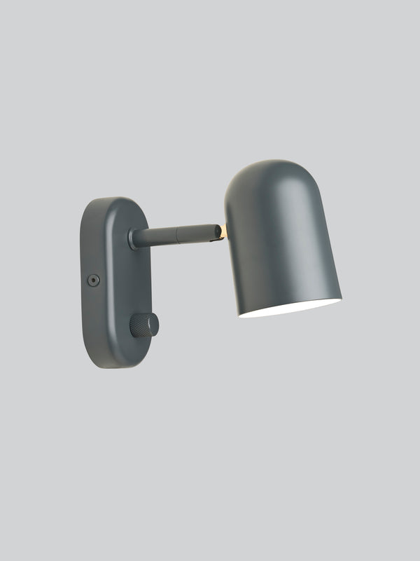 Buddy - Wall Light - Grey