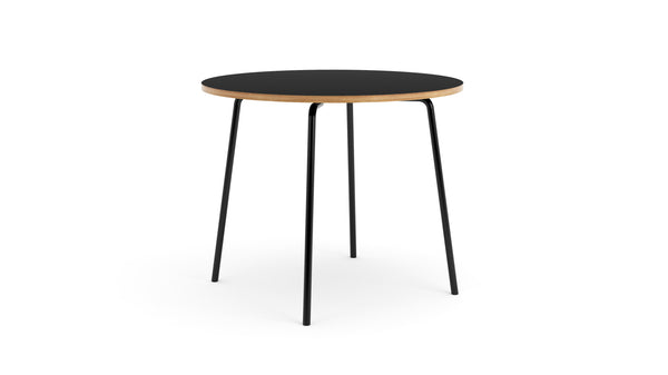 Otto Circular Table - All Black