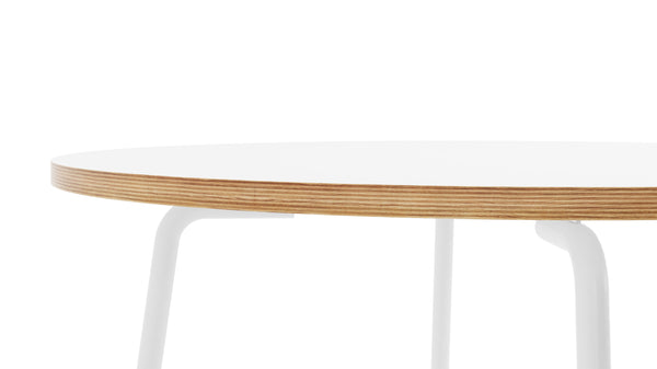 Otto Circular Table - All White