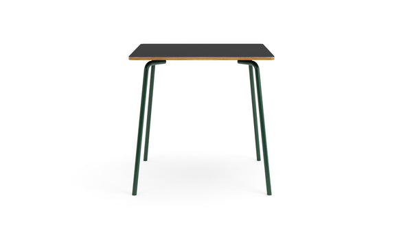 Otto Square Table - Green & Black