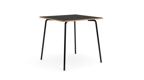 Otto Square Table - Oak & Black