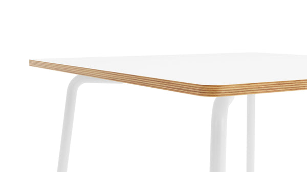 Otto Square Table - All White
