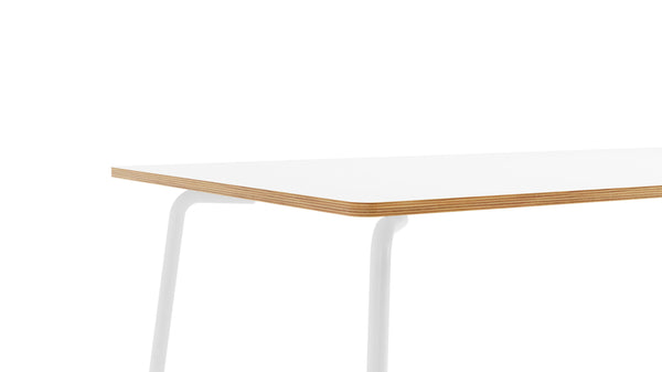 Otto Rectangular Table - All White
