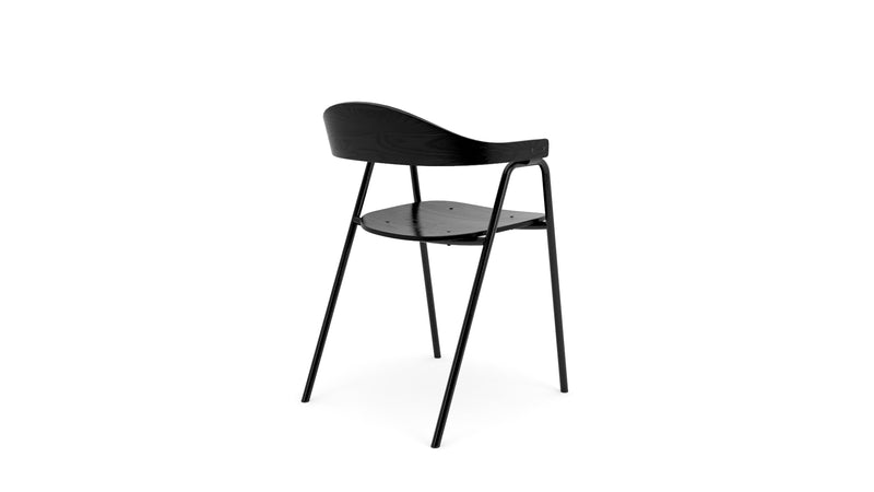 Otto Armchair - All Black, Dining Chair,  - Buy from Hayche.com