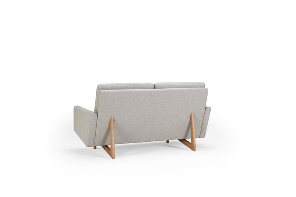 Retro 2-Seater Sofa - Fabric