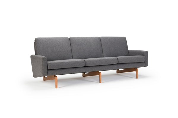 Retro 3-Seater Sofa - Fabric