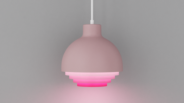 Strata Pendant Light - Pink