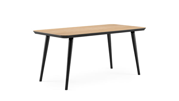 WW Dining Table - Rectangular - Black, Table, 160 x 80cm - Buy from Hayche.com