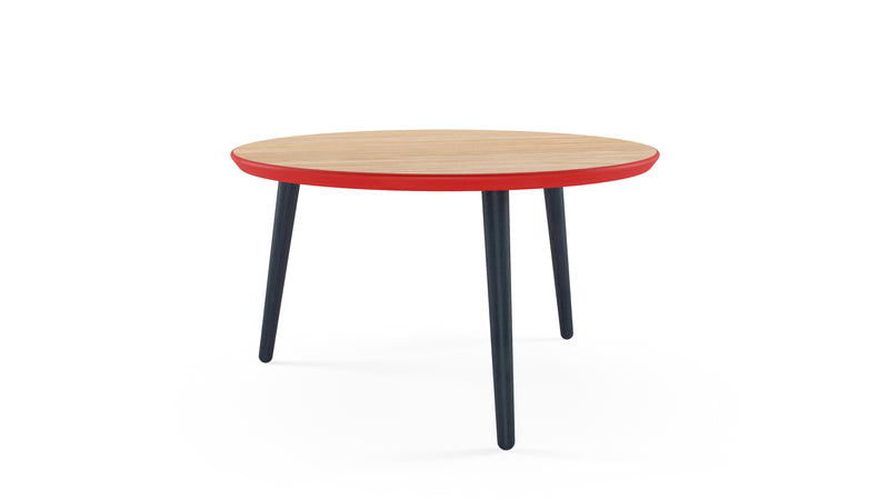 WW Coffee Table - CS3, Oak, Red & Blue - Buy from Hayche.com - Clerkenwell London