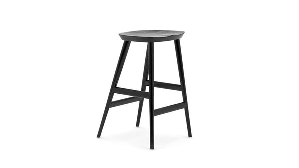 WW Classic - Bar Stool - Black Oak - 75cm, Bar Stool - Buy from Hayche.com