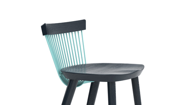 WW Bar Stool CS6 - Limited edition - Deep Blue & Light Blue