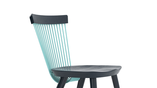 WW Side Chair CS6 - Limited edition - Deep Blue & Light Blue