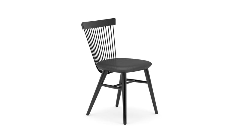 WW Chair - All Black - Leather