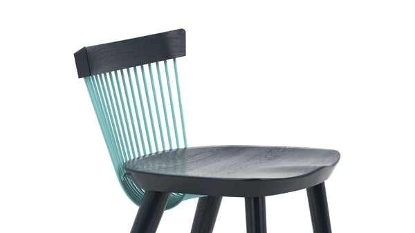 WW Counter Stool CS6 - Limited edition - Deep Blue & Light Blue