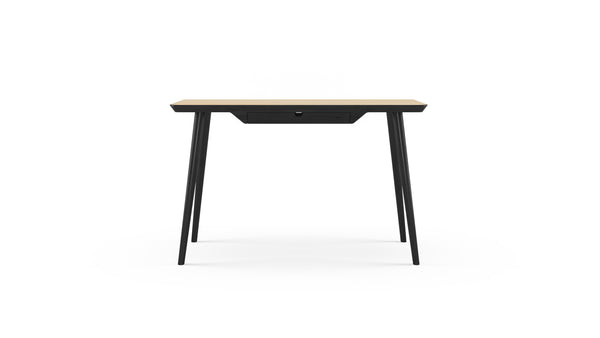 WW Desk - Oak & Black