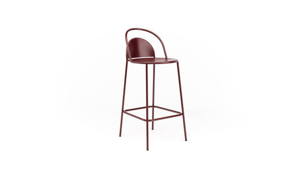 Dune Bar Stool - Red