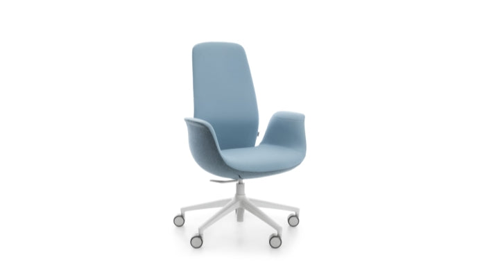 Taylor - High Back Office Chair - Blue