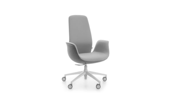 Taylor - High Back Office Chair - Grey
