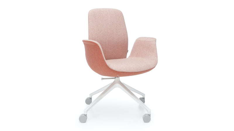 Taylor - Low Back Office Chair - Pink