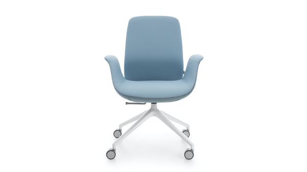 Ellie - Low Back Office Chair - Blue