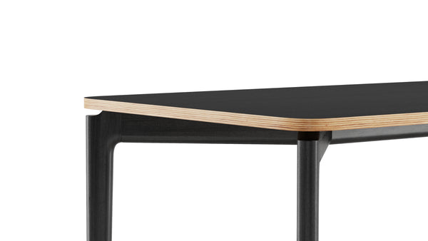 Kensington Rectangular Table - All Black