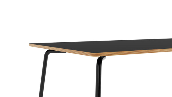 Otto Rectangular Table - All Black