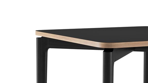 Kensington Square Table - All Black