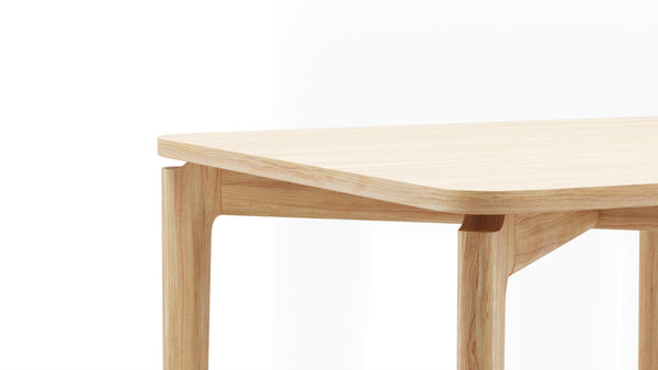Kensington Square Table - All Oak