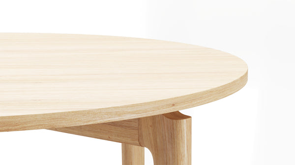 Kensington Circular Table - All Oak
