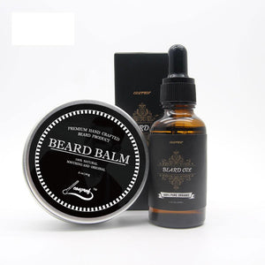 100% Natural Beard Balm & Beard Conditioning Oil