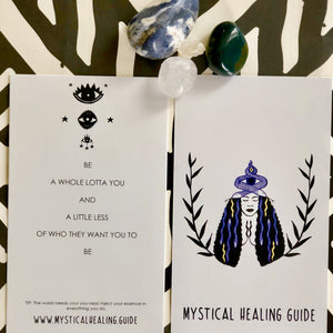 Mystical Healing Guide Daily Guidance Intuitive Deck